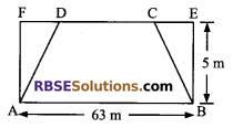 RBSE Solutions for Class 9 Maths Chapter 11 Area of Plane Figures Miscellaneous Exercise - 10