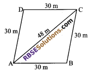 RBSE Solutions for Class 9 Maths Chapter 11 Area of Plane Figures Miscellaneous Exercise - 6