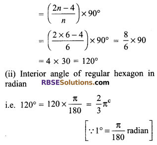 RBSE Solutions for Class 9 Maths Chapter 13 Angles and their Measurement Additional Questions - 2