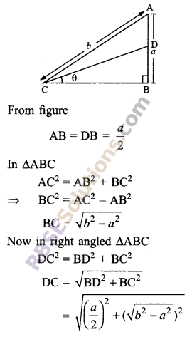 RBSE Solutions for Class 9 Maths Chapter 14 Trigonometric Ratios of Acute Angles Ex 14.1 - 16