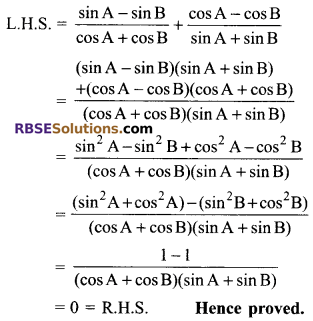 RBSE Solutions for Class 9 Maths Chapter 14 Trigonometric Ratios of Acute Angles Miscellaneous Exercise - 42