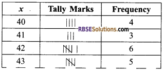 RBSE Solutions for Class 9 Maths Chapter 15 Statistics Additional Questions - 13