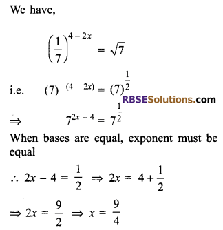 RBSE Solutions for Class 9 Maths Chapter 2 Number System Additional Questions 20