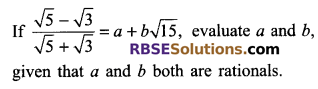 RBSE Solutions for Class 9 Maths Chapter 2 Number System Additional Questions 35