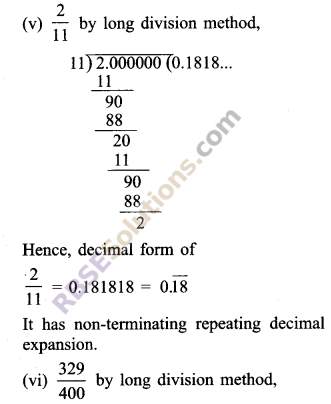 RBSE Solutions for Class 9 Maths Chapter 2 Number System Ex 2.1 6