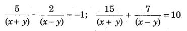 RBSE Solutions for Class 9 Maths Chapter 4 दो चरों वाले रैखिक समीकरण Ex 4.2 Q15