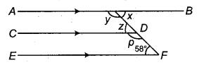 RBSE Solutions for Class 9 Maths Chapter 5 समतल ज्यामिती परिचय एवं रेखाएँ व कोण Ex 5.2 Q1