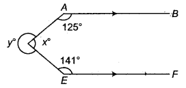RBSE Solutions for Class 9 Maths Chapter 5 समतल ज्यामिती परिचय एवं रेखाएँ व कोण Ex 5.2 Q2