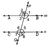 RBSE Solutions for Class 9 Maths Chapter 5 समतल ज्यामिती परिचय एवं रेखाएँ व कोण Ex 5.2 Q4.1
