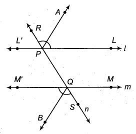 RBSE Solutions for Class 9 Maths Chapter 5 समतल ज्यामिती परिचय एवं रेखाएँ व कोण Ex 5.2 Q5