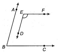 RBSE Solutions for Class 9 Maths Chapter 5 समतल ज्यामिती परिचय एवं रेखाएँ व कोण Ex 5.2 Q6