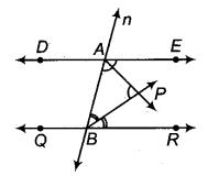 RBSE Solutions for Class 9 Maths Chapter 5 समतल ज्यामिती परिचय एवं रेखाएँ व कोण Ex 5.2 Q7.1