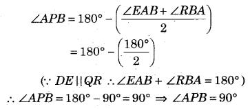 RBSE Solutions for Class 9 Maths Chapter 5 समतल ज्यामिती परिचय एवं रेखाएँ व कोण Ex 5.2 Q7.2