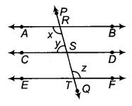 RBSE Solutions for Class 9 Maths Chapter 5 समतल ज्यामिती परिचय एवं रेखाएँ व कोण Ex 5.2 Q9.1