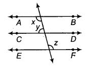 RBSE Solutions for Class 9 Maths Chapter 5 समतल ज्यामिती परिचय एवं रेखाएँ व कोण Ex 5.2 Q9