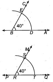 RBSE Solutions for Class 9 Maths Chapter 5 समतल ज्यामिती परिचय एवं रेखाएँ व कोण Ex 5.3 Q3