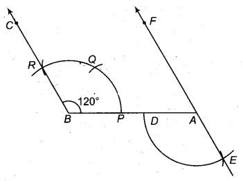 RBSE Solutions for Class 9 Maths Chapter 5 समतल ज्यामिती परिचय एवं रेखाएँ व कोण Ex 5.3 Q5