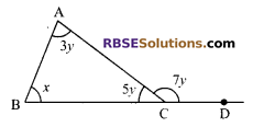 RBSE Solutions for Class 9 Maths Chapter 5 Plane Geometry and Line and Angle Additional Questions 11