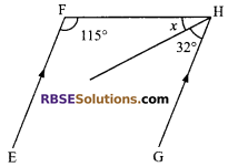RBSE Solutions for Class 9 Maths Chapter 5 Plane Geometry and Line and Angle Additional Questions 13