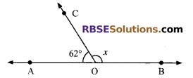RBSE Solutions for Class 9 Maths Chapter 5 Plane Geometry and Line and Angle Additional Questions 2