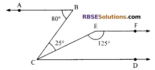 RBSE Solutions for Class 9 Maths Chapter 5 Plane Geometry and Line and Angle Additional Questions 21