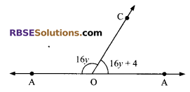 RBSE Solutions for Class 9 Maths Chapter 5 Plane Geometry and Line and Angle Additional Questions 3
