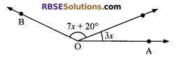 RBSE Solutions for Class 9 Maths Chapter 5 Plane Geometry and Line and Angle Additional Questions 4
