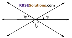 RBSE Solutions for Class 9 Maths Chapter 5 Plane Geometry and Line and Angle Additional Questions 5