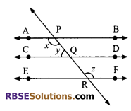 RBSE Solutions for Class 9 Maths Chapter 5 Plane Geometry and Line and Angle Ex 5.2 12
