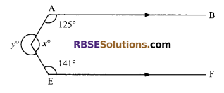 RBSE Solutions for Class 9 Maths Chapter 5 Plane Geometry and Line and Angle Ex 5.2 2