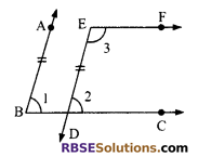 RBSE Solutions for Class 9 Maths Chapter 5 Plane Geometry and Line and Angle Ex 5.2 8