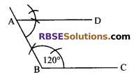 RBSE Solutions for Class 9 Maths Chapter 5 Plane Geometry and Line and Angle Ex 5.3 5