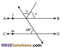 RBSE Solutions for Class 9 Maths Chapter 5 Plane Geometry and Line and Angle Miscellaneous Exercise 10