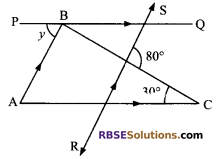 RBSE Solutions for Class 9 Maths Chapter 5 Plane Geometry and Line and Angle Miscellaneous Exercise 13