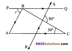 RBSE Solutions for Class 9 Maths Chapter 5 Plane Geometry and Line and Angle Miscellaneous Exercise 14