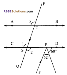RBSE Solutions for Class 9 Maths Chapter 5 Plane Geometry and Line and Angle Miscellaneous Exercise 16