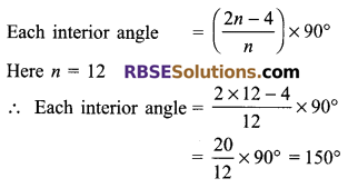 RBSE Solutions for Class 9 Maths Chapter 6 Rectilinear Figures Miscellaneous Exercise 6