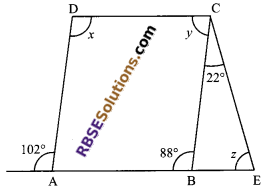 RBSE Solutions for Class 9 Maths Chapter 6 Rectilinear Figures Miscellaneous Exercise 8