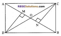 RBSE Solutions for Class 9 Maths Chapter 7 Congruence and Inequalities of Triangles Additional Questions 15