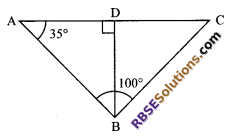RBSE Solutions for Class 9 Maths Chapter 7 Congruence and Inequalities of Triangles Additional Questions 16
