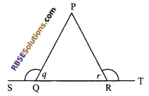 RBSE Solutions for Class 9 Maths Chapter 7 Congruence and Inequalities of Triangles Additional Questions 20