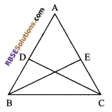RBSE Solutions for Class 9 Maths Chapter 7 Congruence and Inequalities of Triangles Additional Questions 21