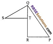 RBSE Solutions for Class 9 Maths Chapter 7 Congruence and Inequalities of Triangles Additional Questions 24