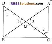 RBSE Solutions for Class 9 Maths Chapter 7 Congruence and Inequalities of Triangles Ex 7.2 14
