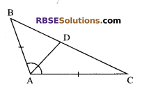 RBSE Solutions for Class 9 Maths Chapter 7 Congruence and Inequalities of Triangles Ex 7.2 3