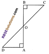 RBSE Solutions for Class 9 Maths Chapter 7 Congruence and Inequalities of Triangles Ex 7.2 7