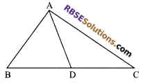 RBSE Solutions for Class 9 Maths Chapter 7 Congruence and Inequalities of Triangles Miscellaneous Exercise 11