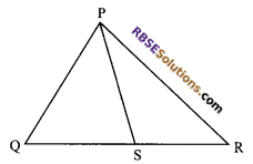 RBSE Solutions for Class 9 Maths Chapter 7 Congruence and Inequalities of Triangles Miscellaneous Exercise 14