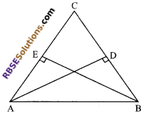 RBSE Solutions for Class 9 Maths Chapter 7 Congruence and Inequalities of Triangles Miscellaneous Exercise 6
