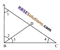 RBSE Solutions for Class 9 Maths Chapter 7 Congruence and Inequalities of Triangles Miscellaneous Exercise 8